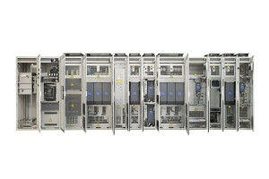 VACON_NXP_System_drive_Front_doors_open